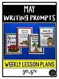 May Writing Prompts (for Class Books)