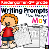 May Writing Prompts for Kindergarten to Second Grade