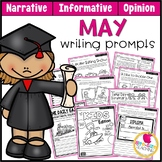 May Writing Prompts | Real-World and Draw & Write Formats
