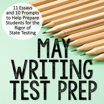 May Writing Test Prep & ELA Paired Passages for Upper Elementary