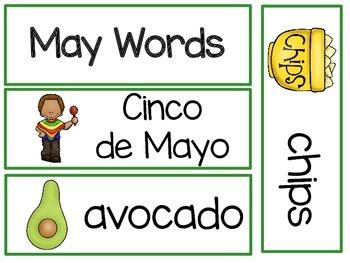 May - Writing Words