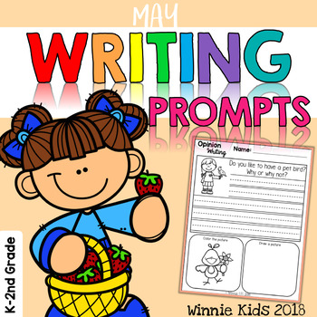 May Writing and Picture Prompts