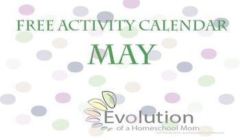 May activity calendar