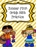 Distance Learning May and Summer Themed Math for Kindergar