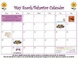 May snack calendar-editable