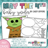 May the 4th Be With You! Baby Yoda - Digital Drawing or Cu