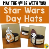 May the 4th Be With You - Star Wars Day - BB8 and Rey Hats