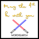 May the 4th Be With You Word Search