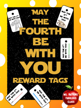 May the 4th be with you Holiday Brag Tags