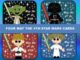 May the 4th Be With You Star Wars Cards