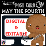 """May the Fourth """"Space Wars"""" Virtual Postcard"""