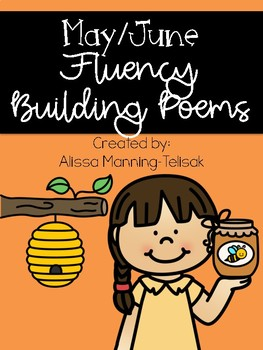 May/June Fluency Building Poems {Poetry Notebooks}