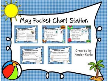 May/June Pocket Chart Station
