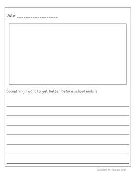 May/June Writing Journal