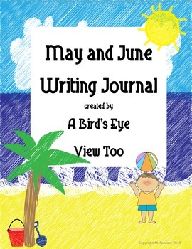 May/June Writing Journal
