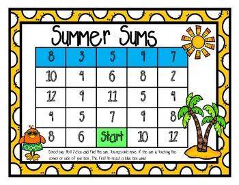 May and Summer Math Centers
