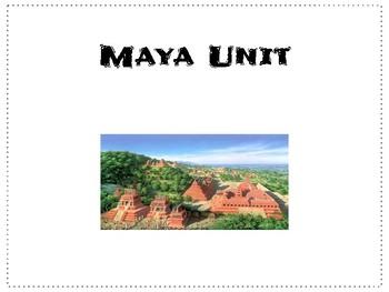 Maya 3 Day Unit