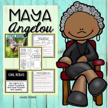 Maya Angelou Activities and Unit