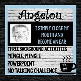 Maya Angelou Author Study, Background Powerpoint and Activities