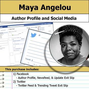 Maya Angelou - Author Study - Profile and Social Media