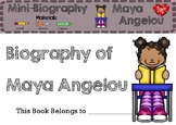 Maya Angelou - Biography