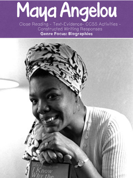 Maya Angelou: Influential Women in History {10 page biography unit}