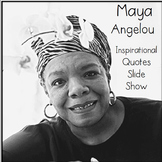 Maya Angelou Famous Quotes Slide Show Poetry Poems History
