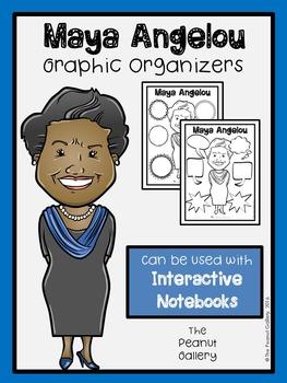 Maya Angelou Graphic Organizers