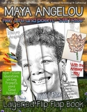 """Maya Angelou: Her Life and Poem, """"Still I Rise,"""" Layered F"""