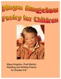 Maya Angelou - Poet Mentor - Reading and Writing Poetry