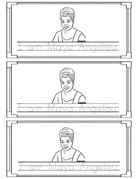 Maya Angelou Sight Word Book - Am