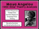 "Maya Angelou ""Still I Rise"" Analysis"