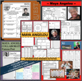 MAYA ANGELOU BUNDLE Poet Research Project Poetry Biography Notes
