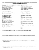 """Maya Angelou's """"Still I Rise"""" Poem Study Guide and Multipl"""