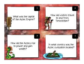 Maya, Aztec, Inca Task Card Bundle