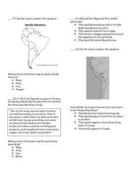 Maya, Aztec, Inca Test