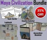 Maya Civilization Task Cards and Activities Bundle