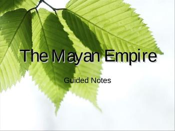 Maya Empire PowerPoint