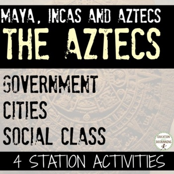 Aztecs Social Class Cities and Government Station Activities