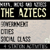 Aztecs Social Class Cities and Government Station Activiti