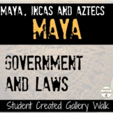 Mayan Civilization Government and Laws Student-Created Gal
