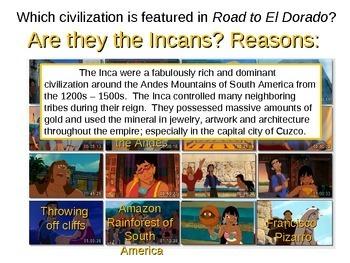 Maya Inca Aztec In Road To El Dorado By Greg S Goods