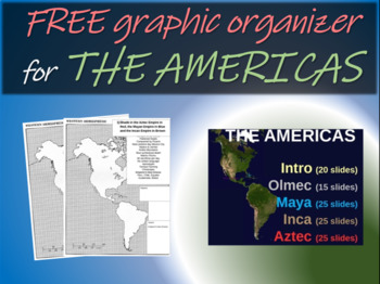 Maya, Inca, Aztec Map Handouts by Greg's Goods - Making History Fun