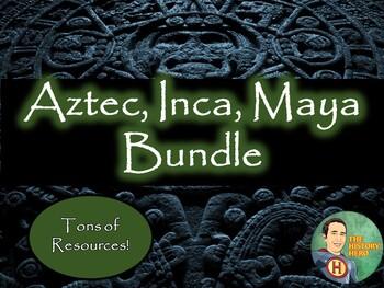 Aztec, Inca, Maya - Mesoamerica Bundle