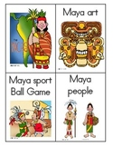 Maya, Inca, Aztec Vocabulary Word Wall Word Cards for Core