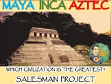 Maya, Inca, Aztec : Which Civilization is the Greatest? Salesman Project