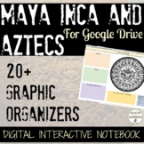 Maya Inca Aztecs 20+ Digital Interactive Notebook Google Drive MesoAmerica