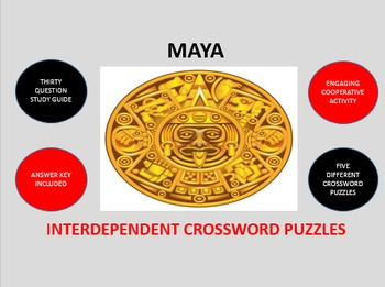 Maya: Interdependent Crossword Puzzles Activity