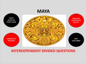 Maya: Interdependent Divided Questions Activity