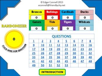 Maya Mayan Interactive PowerPoint Game 57 Questions